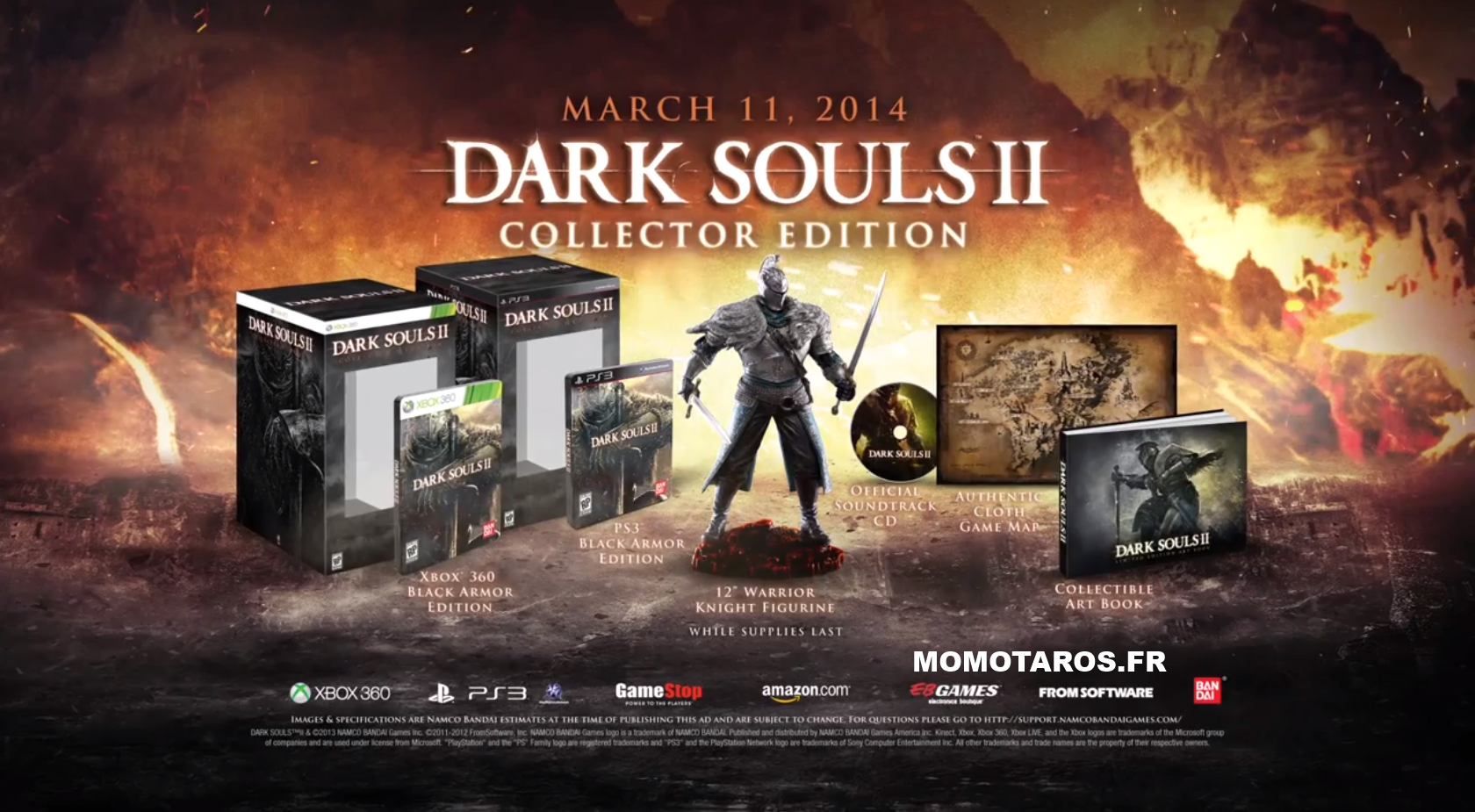 Version collector de vos jeux pal Dark-Souls-II-Collector-Edition