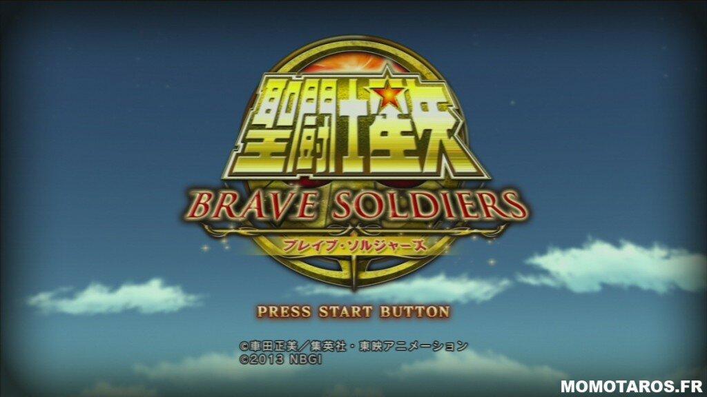 Saint Seiya Brave Soldiers écran titre