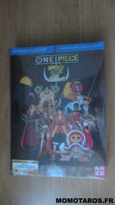 Coffret Blu-Ray DVD One Piece Z collector