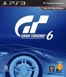 GT6 cover- Gran Turismo 6 cover