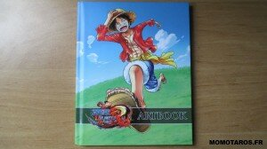One Piece Unlimited World Red Chopper Edition artbook recto