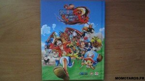One Piece Unlimited World Red Chopper Edition artbook verso