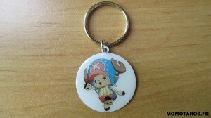 One Piece Unlimited World Red Chopper Edition porte clés recto