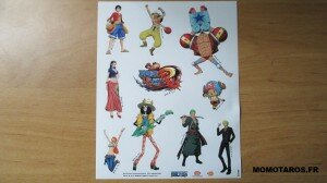 One Piece Unlimited World Red Chopper Edition stickers