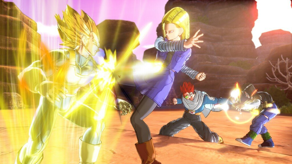 Dragon Ball Xenoverse gameplay 2