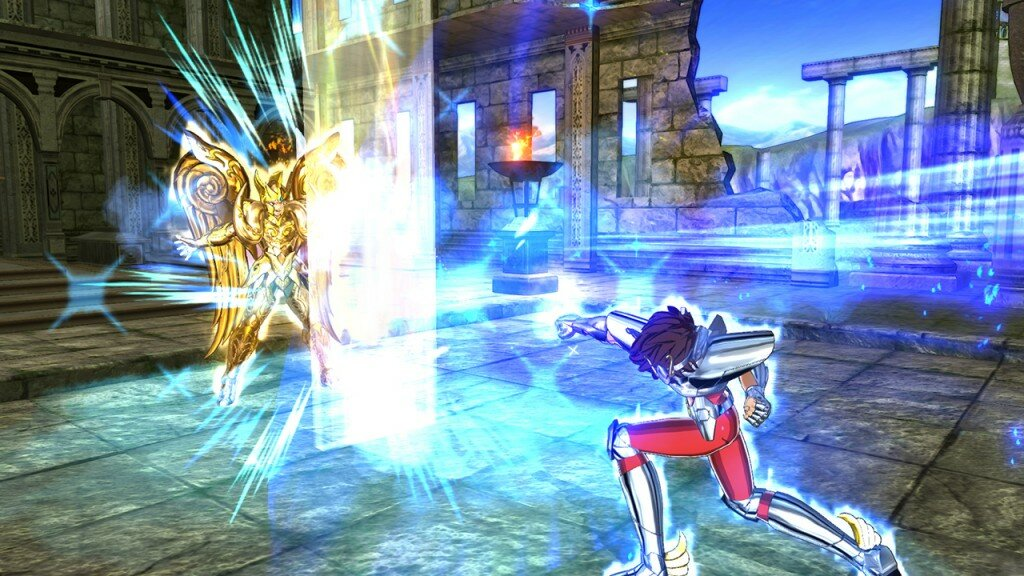 Saint Seiya Soldier's Soul gameplay 5