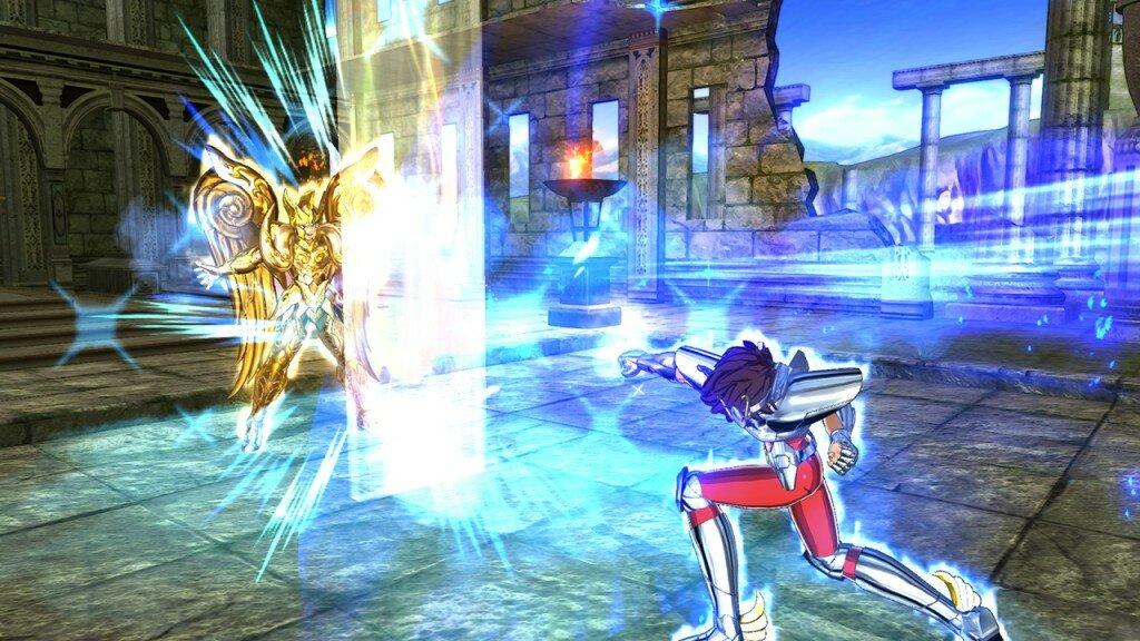 Saint Seiya Soldier's Soul gameplay 5